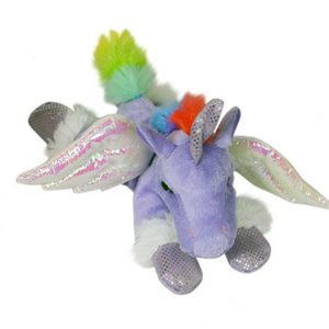 20cm Purple Winged Pegasus Unicorn
